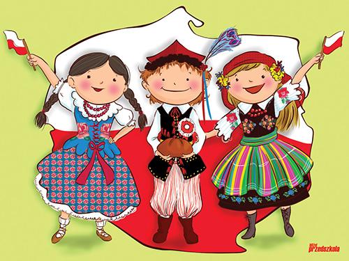 Znalezione obrazy dla zapytania polskie dzieci gif