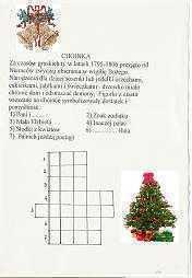 32) Kiermasz książeczek z tradycjami świątecznymi i krzyżówkami