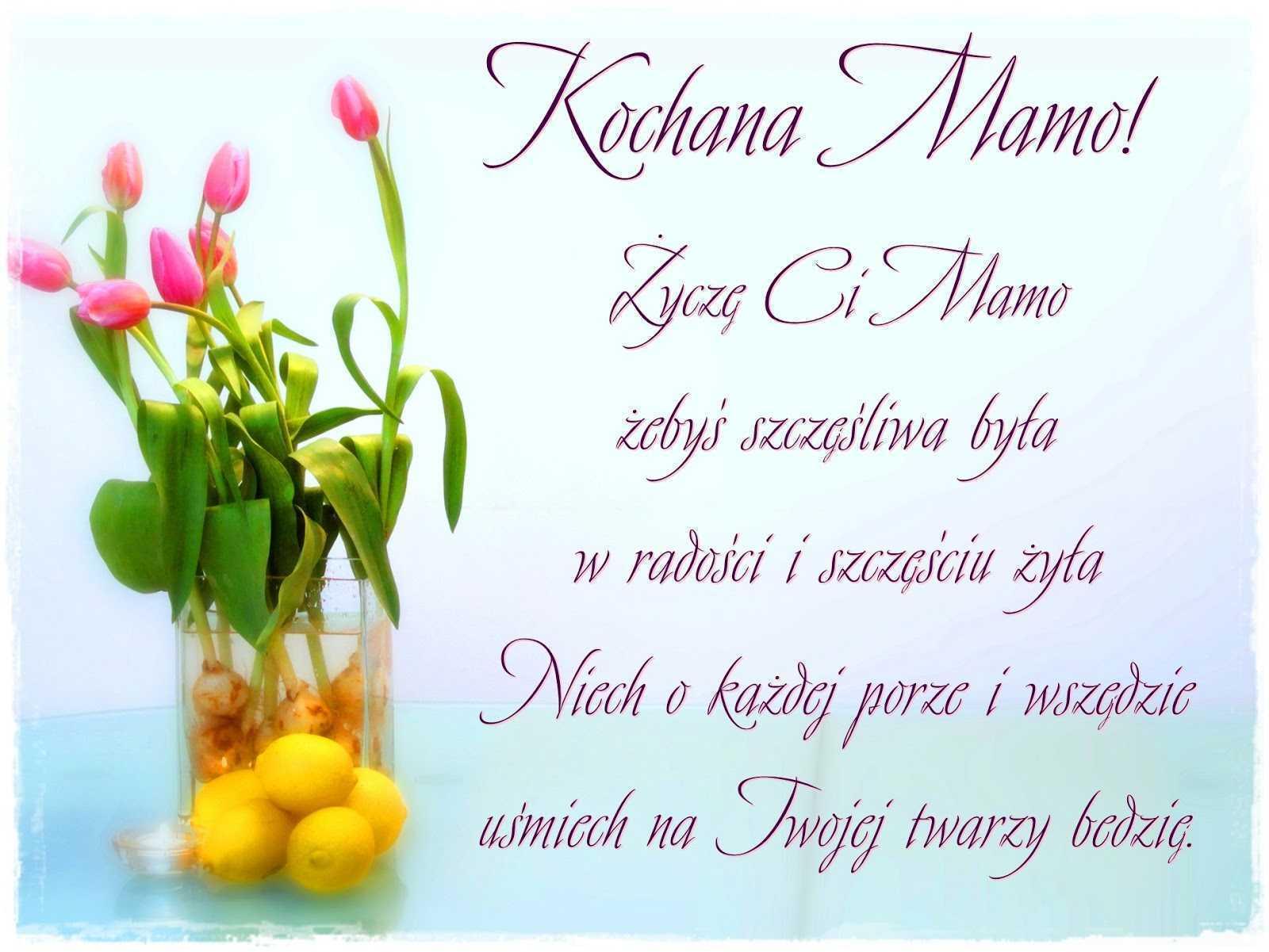 Życzenia Dla Mamy